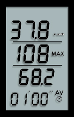 Display Sywatch eole 1 Windmesser, Anemometer