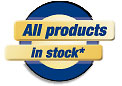 All products on stock!