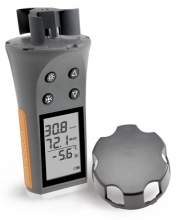 Skywatch meteos1 - Windmesser<br>Handwindmesser mit Thermometer und 3D-Rotor