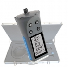 Flowatch® Flowmeter - Swissmade Precision Hand Held Flowmeter for mobile measurings of gas- and fluidflows plus thermometer